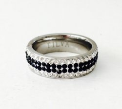 Black & White Dimond- Ring