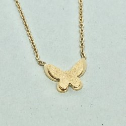 Butterfly Gold- Halsband