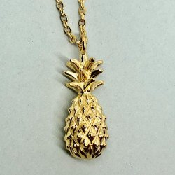 Pineapple Gold- Halsband