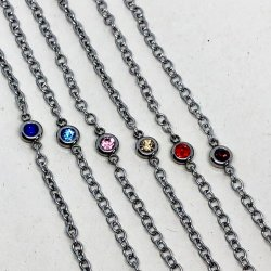 Girls Dot Of Color- Armband