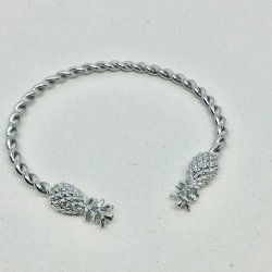Pineapple Steel- Armband