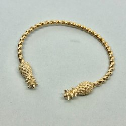 Pineapple Gold- Armband
