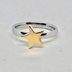 Tripple Star- Ring- Gold