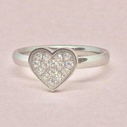 Valentine Crystall- ring