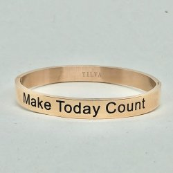 Make Today Count- Armband