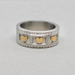 Tripple Hearts- Ring