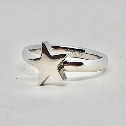 Tripple Star- Ring- Steel