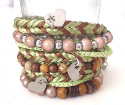 Coconut Green- Armband Wrap