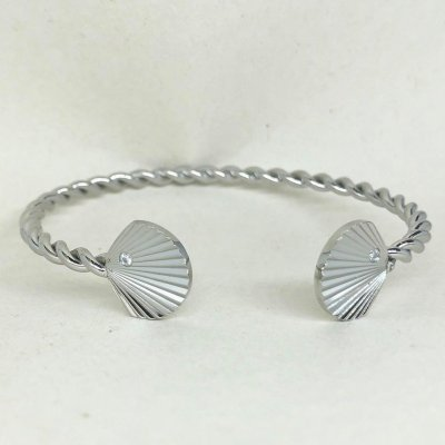 Summer Shell Steel- Armband
