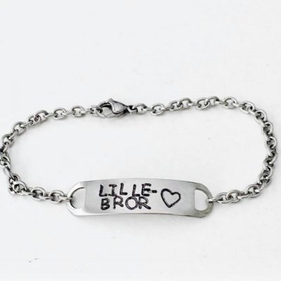 "Steel One Chain""Lille bror""- Armband"